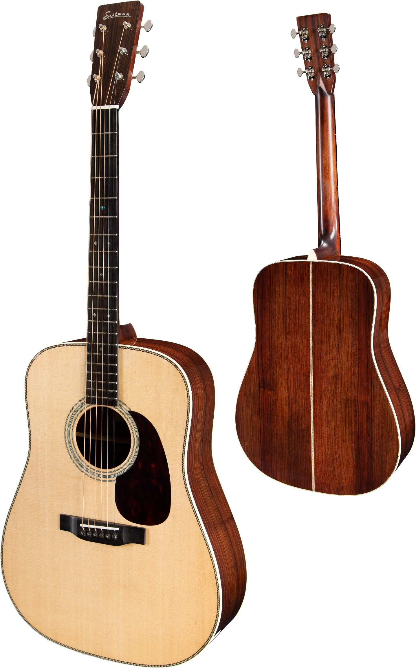 Eastman Dreadnought Guitar, Sitka/Rosewood