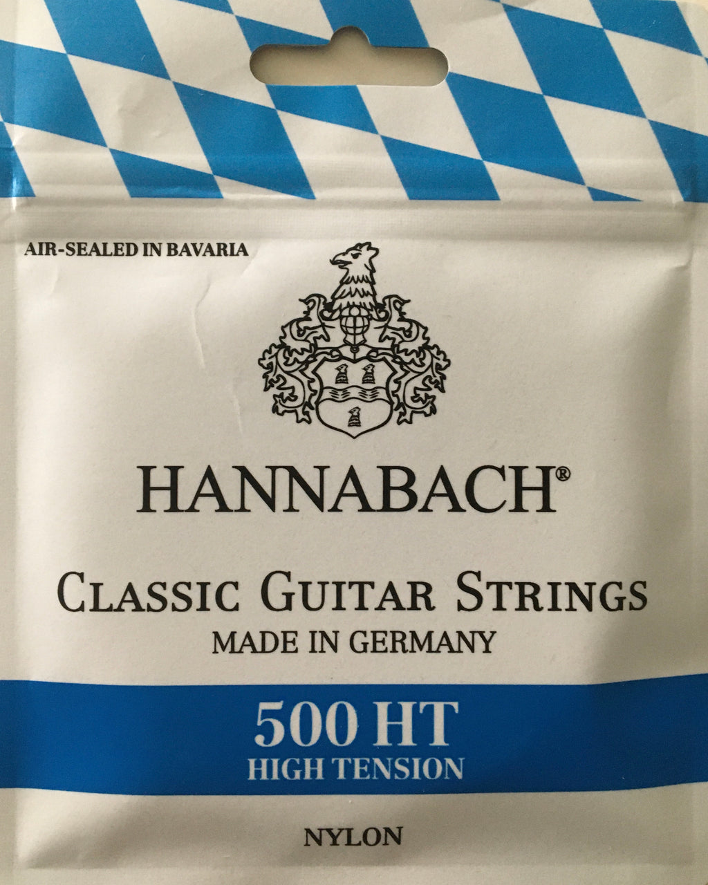 Hannabach Classic Guitar Strings High Tension