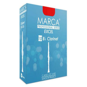 Marca Excel B flat Clarinet Reeds - Box of 10