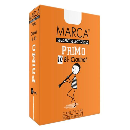 Marca PriMo B flat Clarinet Reeds - Box of 10