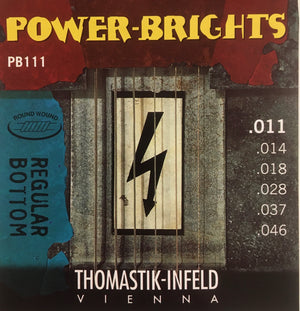 POWER BRIGHTS REGULAR BOTTOM Electric Guitar String Set