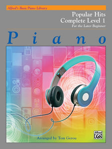 Alfred's Basic Piano Library: Popular Hits Complete Level 1 (1A/1B)