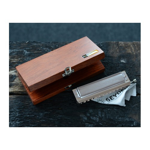 Seydel 12 Hole Chromatic Harmonica Collector Case