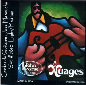 "John Pearse Nuages ""Cordes de Guitare Jazz Manouche"" Gypsy Jazz Guitar Strings"