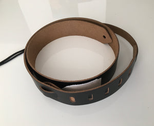 John Pearse Leather Skinny Strap