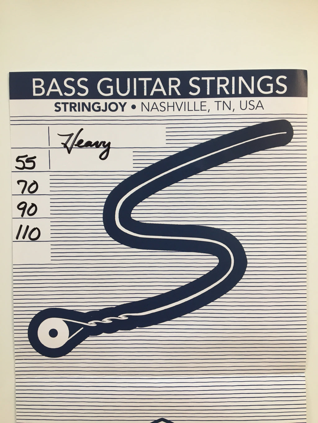StringJoy Bass Guitar Strings, Heavy
