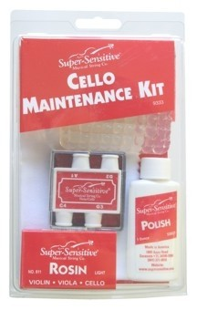 Super-Sensitive Cello Maintenance Kit
