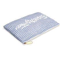 Load image into Gallery viewer, Stripe Sweater Makeup or Pencil Pouch