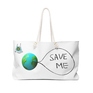 Save Me - Earth Oversized Tote