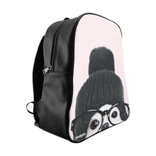 Load image into Gallery viewer, Peekaboo Puppy School Backpack