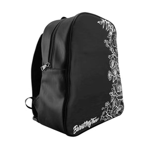 Some things are just Black and White- Backpack