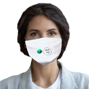 Save me Earth Sublimation Face Mask