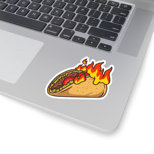 Burt My Taco Stickers