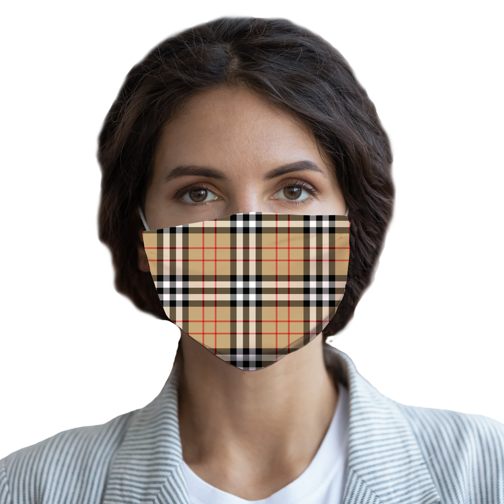Perfect Plaid Sublimation Face Mask