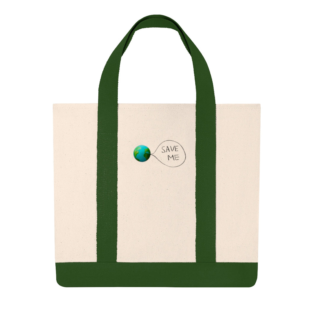 Save Me - Earth Shopping Tote