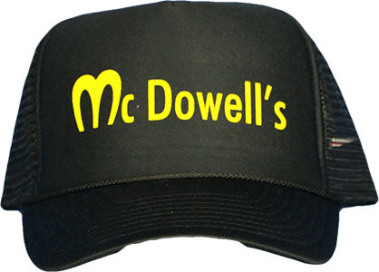 McDOWELL'S (ONE SIZE) TRUCKER HAT