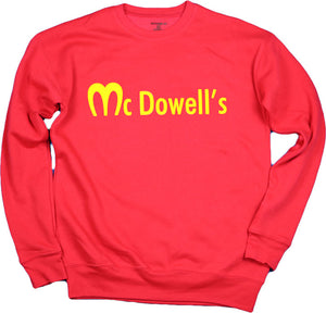 McDOWELL'S (FASHION FIT) UNISEX SWEAT TOP