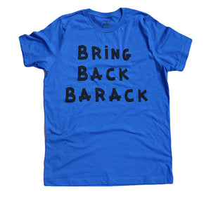 BRING BACK BARACK (ROYAL BLUE) MENS/UNISEX