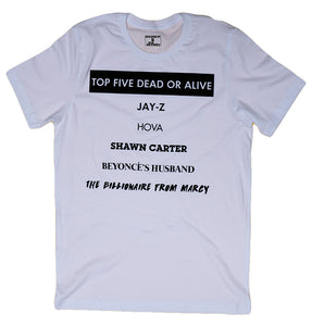 JAY-Z TOP 5 DEAD OR ALIVE