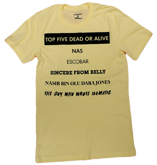 NAS TOP 5 DEAD OR ALIVE (YELLOW)