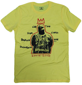 THE BIGGIE TEE (YELLOW) UNISEX ($15 FOR A LIMITED TIME ONLY)