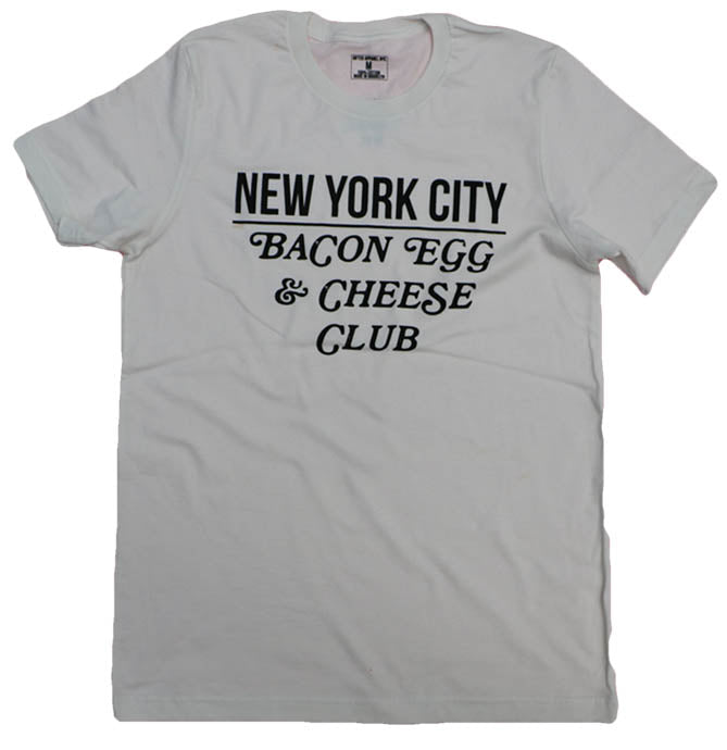 NYC BACON EGG & CHEESE CLUB (VINTAGE WHITE)