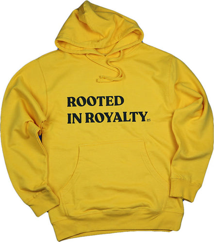 ROOTED IN ROYALTY (GOLD) UNISEX HOODIE
