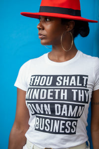 THOU SHALT (WOMENS) ($15 FOR A LIMITED TIME ONLY)