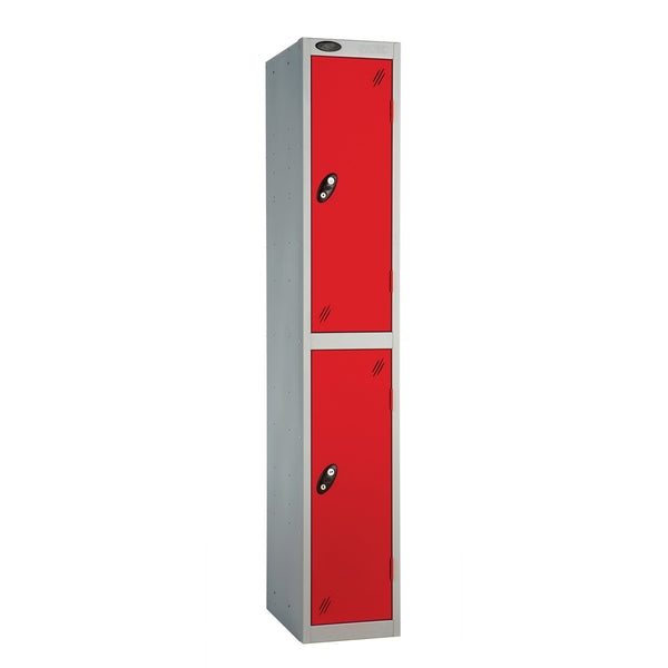 Probe Two Door Locker (Red)
