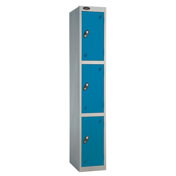 Probe Three Door Lockers (Blue)