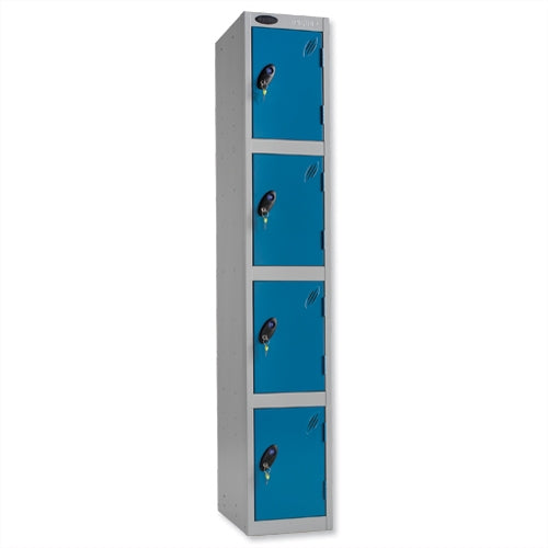 Probe Four Door Lockers (Blue)