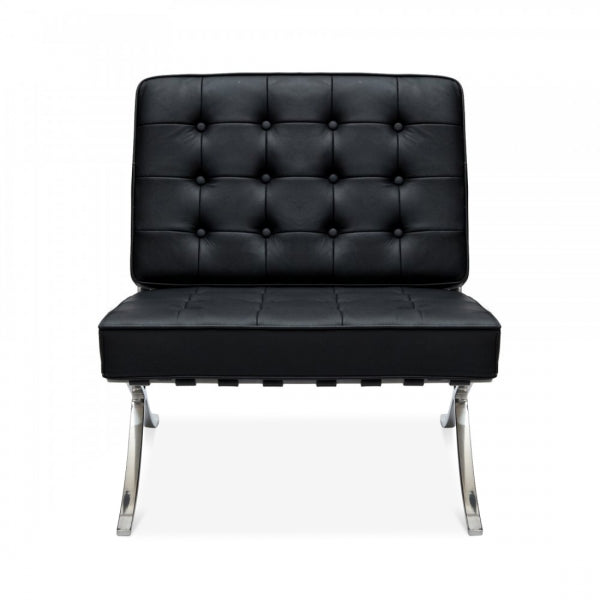 Barcelona Style Single Seater Black
