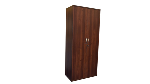 Tall Walnut Storage Cupboard