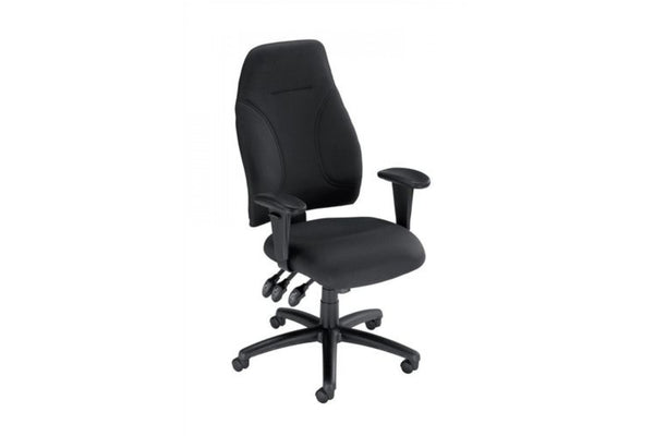 Black Influx High Back Posture Chair