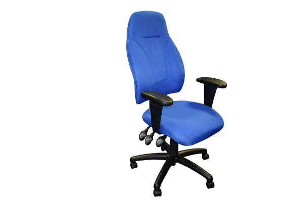 Blue Influx High Back Bosture Chair