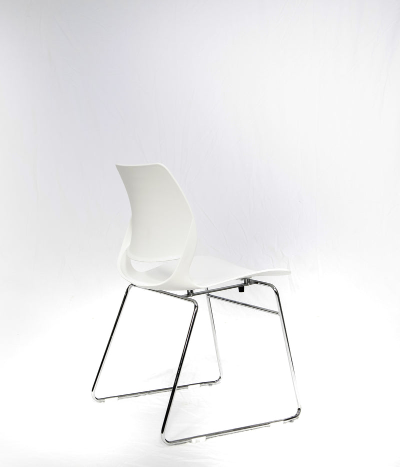 Contour Canteen Chairs (White)