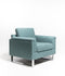 The Delano Single Seater Teal
