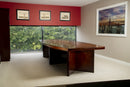 3.2m Shelbourne Walnut Veneer Boardroom