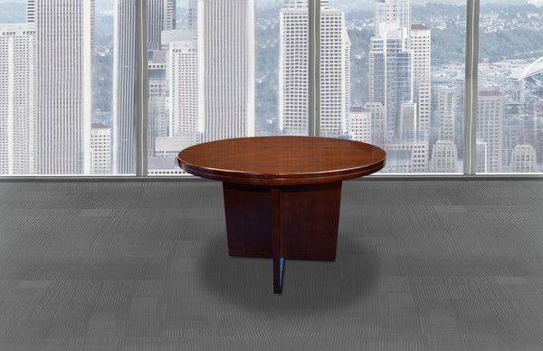 1.2m Walnut Veneer Meeting Table