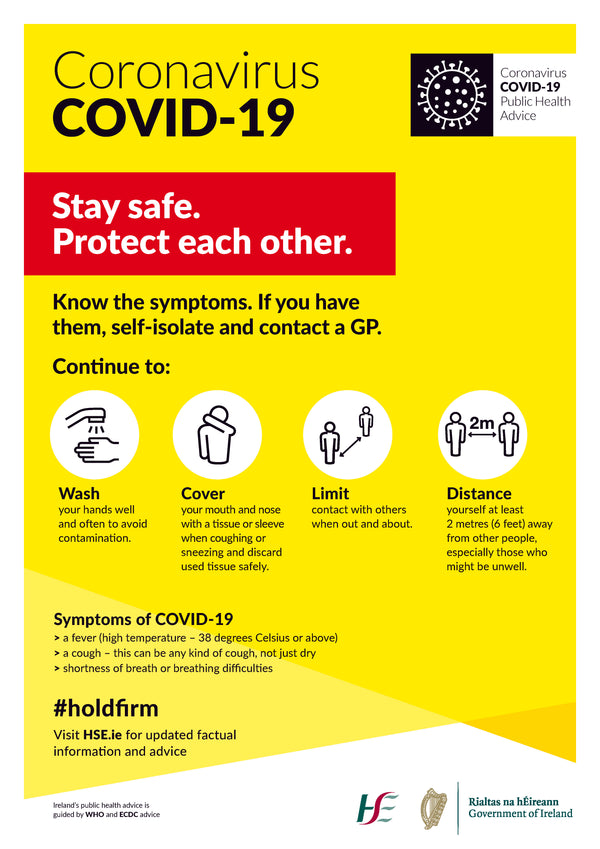 Covid-19 Stay Safe Poster