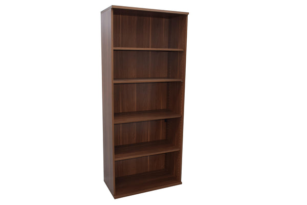 Walnut Wooden Storage Unit (Open)
