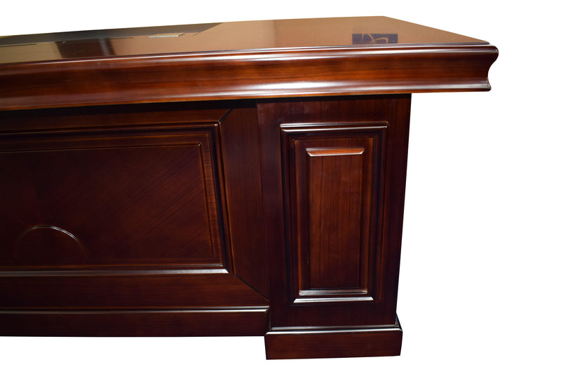 Conrad Walnut Veneer Executive Desk