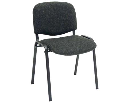 New Charcoal Stacking Chairs
