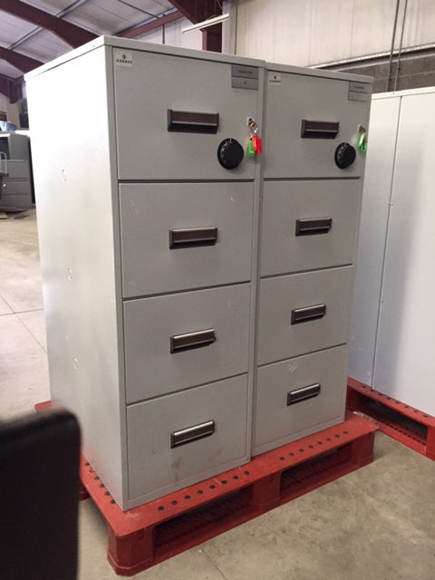 Kardex 4 Drawer Fire Filing Cabinet