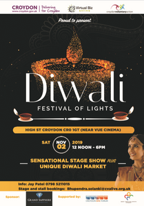 Grabby Bag is heading to Croydon's Diwali Festival of Lights this November!