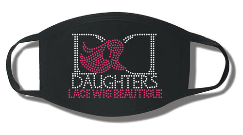Blinged D.D. Daughters Mask