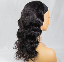 "Load image into Gallery viewer, 16"" Brazilian Virgin Headband Wig- Body Wave"