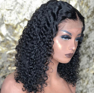 "12"" Deep Wave- Beginners' Lace Front Wig-D.D. Daughters Lace Wig Beautique"