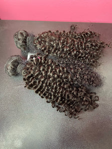 High Quality A+ Brazilian Virgin Kinky Curly Hair Bundles-D.D. Daughters Lace Wig Beautique