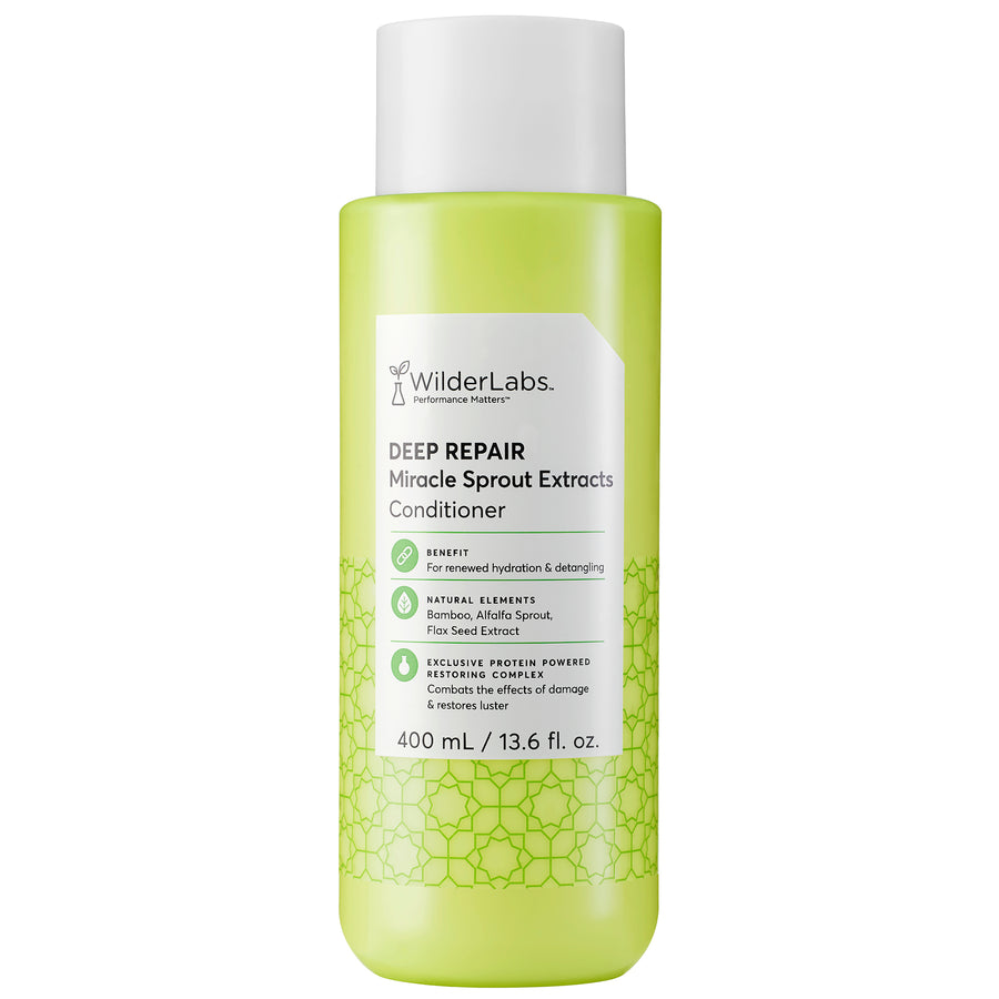 Deep Repair Miracle Sprout Extracts Conditioner | WilderLabs Haircare